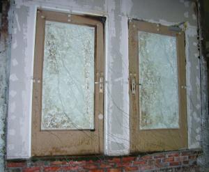 Fot. 7 Widok drzwi z fot.5 po badaniu